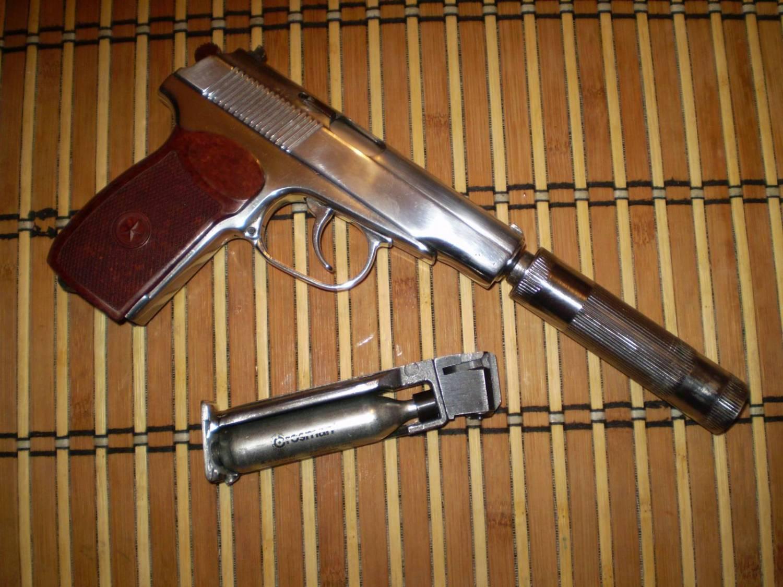 Переделка пневматического пистолета (МР-654К) в боевой 3